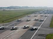 """Máy bay Mỹ tập trận, Triều Tiên đe """"chiến tranh hạt nhân bùng nổ bất cứ lúc nào"""""""