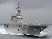 Cam Ranh đón tàu sân bay trực thăng Nhật Bản