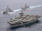 Mỹ điều cụm tàu sân bay thứ ba răn đe Triều Tiên