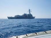 Chiến hạm Mỹ tuần tra Biển Đông, cứng rắn hơn với Trung Quốc