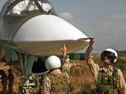 Nga yểm trợ Syria đè bẹp thánh chiến, chiếm 12.000km2 lãnh thổ một tháng