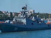 """Nga tung chiến hạm mang """"sát thần"""" Kalibr tới Syria"""