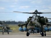 """""""Thợ săn đêm"""" Mi-28 mới Nga thử lửa tại Syria"""