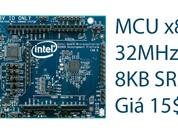 """Intel ra mắt """"máy tính"""" giá chỉ 15 đô, dùng để phát triển thiết bị IoT tiết kiệm điện"""