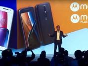 Bộ đôi smartphone Moto G4 và G4 Plus ra mắt