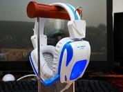 Cận cảnh tai nghe chuyên game SoundMax A-312