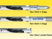 Tên lửa tái sử dụng New Glenn lộ diện