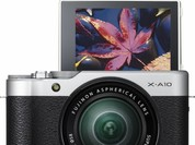 Ngắm máy ảnh Fujifilm X-A10 vừa ra mắt