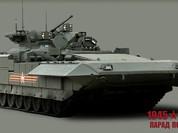 Dàn siêu tăng, thiết giáp tham gia diễu binh trên Quảng trường Đỏ