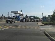 Ukraine xác nhận đoàn xe quân sự nước ngoài đã vượt qua biên giới