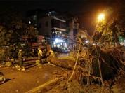 Một người chết, 3 bị thương vì dông lớn tại Hà Nội