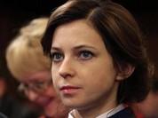 Nữ Bộ trưởng Crimea đẹp hút hồn được Putin thăng cấp