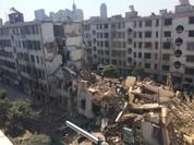 Trung Quốc sập chung cư cao tầng nhiều người chết
