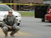 Nổ súng tại căn cứ không quân Mỹ, một người bị thương