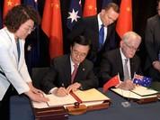 """Úc và Trung Quốc ký kết một """"hiệp định lịch sử"""""""