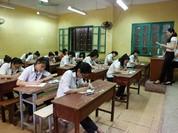 Gấp rút chuẩn bị cho kỳ thi THPT Quốc gia