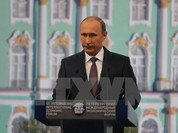 Tổng thống Nga Vladimir Putin đạt mức tín nhiệm cao kỷ lục