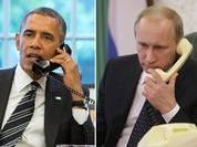 Putin điện đàm trực tiếp với Obama