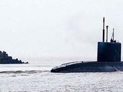 Tàu ngầm Đà Nẵng đã ở trong vịnh Cam Ranh