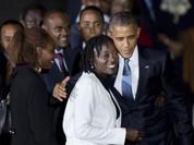 """""""Nghẹt thở"""" công tác bảo vệ Tổng thống Mỹ Barack Obama trở về quê nội"""