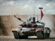 """Những thời điểm ngoạn mục nhất cuộc đua xe tăng """"Tank biathlon"""""""