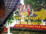 Hà Nội rực đỏ chào đón 70 năm độc lập
