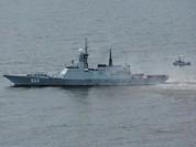 Chùm ảnh mãn nhãn về tàu hộ tống hiện đại nhất của Nga