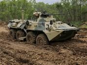 Khám phá xe thiết giáp hiện đại BTR - 82A Nga