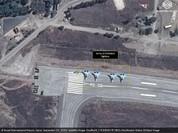 Mỹ công bố hình ảnh mới về Nga đổ xe tăng, chiến đấu cơ tới Syria