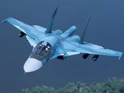 """Nóng: Nga lần đầu tiên điều """"Thú mỏ vịt"""" Su-34 đến Syria"""