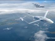 Tiêm kích có thể mang theo một bầy drones