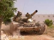 Không quân Nga phủ đầu, Syria ào ạt tấn công giành biên giới