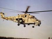 """""""Cá sấu"""" Nga Mi-24 uy mãnh trên bầu trời Syria"""