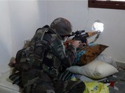 Cuộc chiến tàn khốc giữa những lính bắn tỉa tại Syria