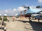 Nga dồn dập ném bom, quân IS tháo chạy khỏi trận địa