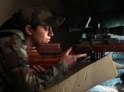 Clip chiến binh khủng bố bị Sniper quân đội Syria hạ thủ