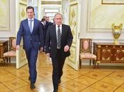 Tổng thống Syria đến Nga sau 3 tuần không kích