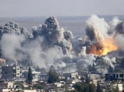 Clip: Không quân Syria trút bão lửa vào lực lượng khủng bố IS