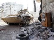 Quân đội Syria đánh bạt khủng bố sang Thổ Nhĩ Kỳ