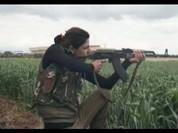 Những bóng hồng nữ binh Syria chống khủng bố