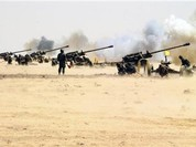 Clip Nga không kích yểm trợ quân đội Syria tấn công toàn diện