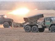 Clip cận cảnh quân đội Syria tấn công Aleppo