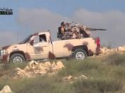Clip phiến quân Syria tan xác vì trúng pháo