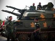 Pháo phòng không tự hành ZSU-23 khạc lửa khiến chiến binh IS tháo chạy