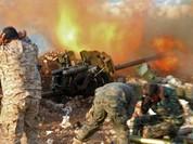 Pháo binh Syria dội lửa mở đường vào thành cổ Palmir