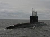 """Sốc: Nga lại phóng Kalibr đánh """"thủ đô"""" IS từ tàu ngầm Kilo"""
