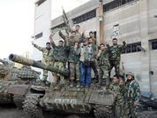 Video: Ác liệt cuộc chiến đường phố thành Homs