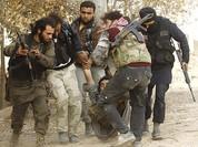 Video: Lính đánh thuê khủng bố Syria hoảng loạn trong mưa đạn
