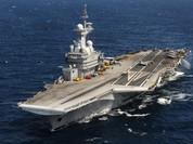 """Tàu sân bay """"Charles de Gaulle"""" bắt đầu chiến dịch chống IS tại Syria"""