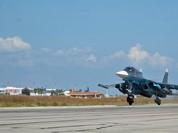 Cận cảnh hoạt động không kích của không quân Nga ở Syria